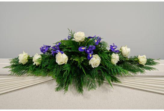 06. Arkunkansilaite valkoinen ruusu ja iiris